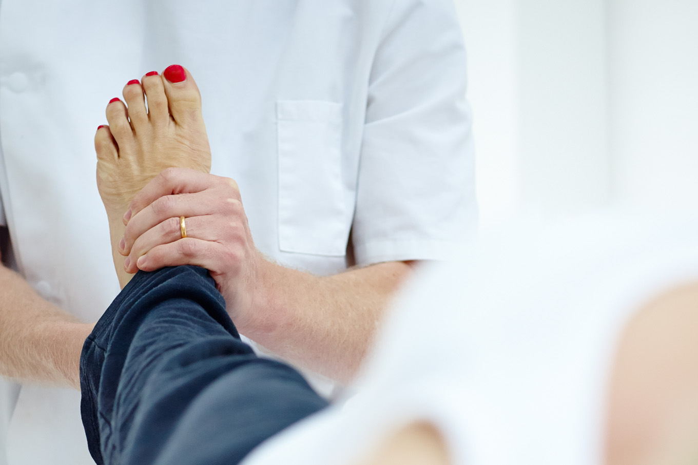 Ankle sprains and osteopathy